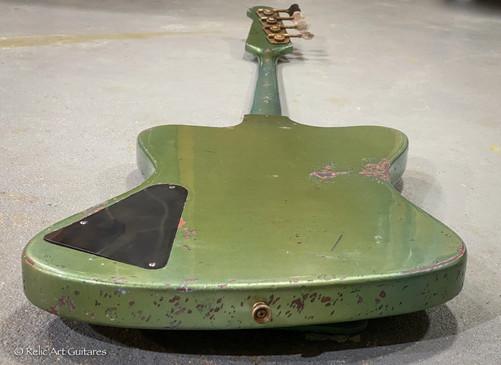 Gibson Thunderbird bass refin inverness green relic