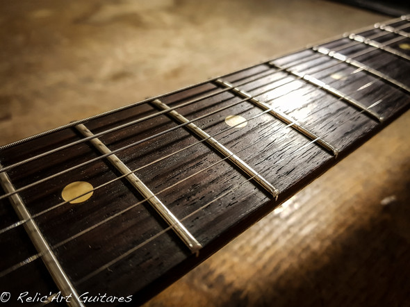 Gibson SG deep black relic