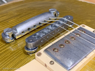 Gibson Les Paul Standard refin Goldtop relic