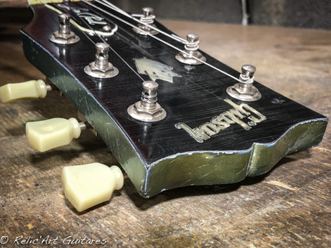 Gibson SG inverness green relic