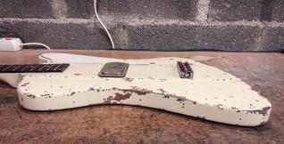 Gibson thunderbird polaris white relic