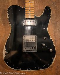 Schecter PT jet black relic