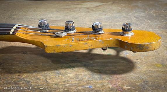 Fender Precision Bass 1963 refin Sunburs