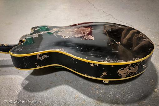 Gretsch Electromatic deep black relic-10