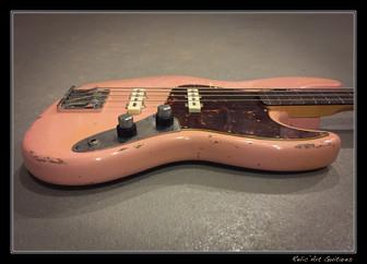 Fender Jazz bass shell pink relic