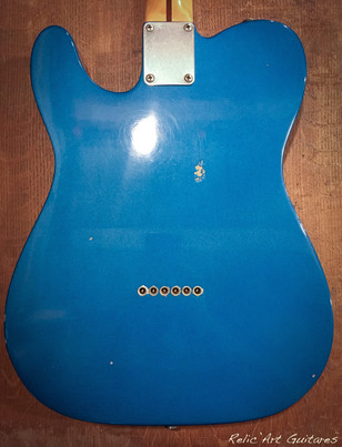 fender lake placid blue relicc