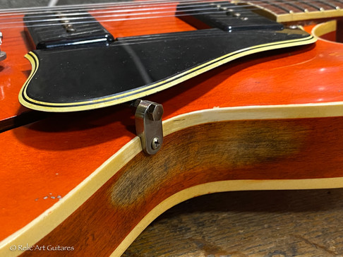 Gibson 335 refin faded cherry relic-15.j