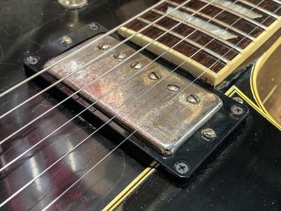 Gibson ES137 refin deep black relic
