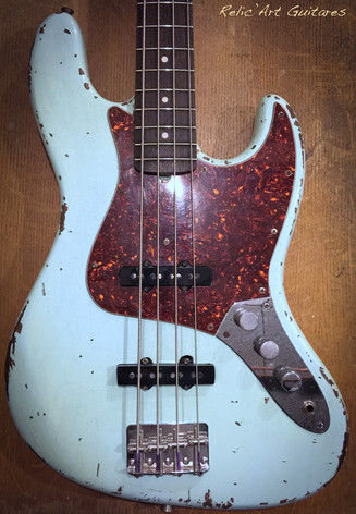 Fender Jazz bass sonic blue relic