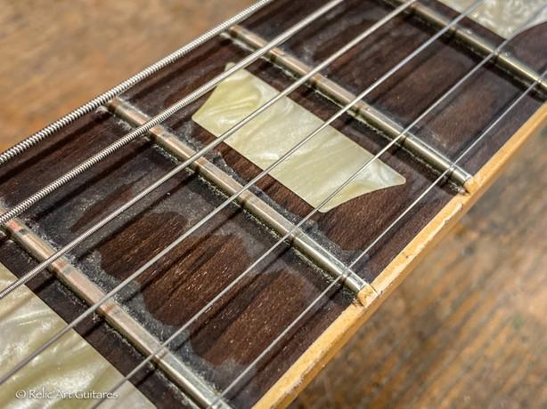 Gibson Les Paul Classic refin Bourbon Burst relic