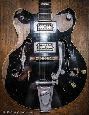 Gretsch Electromatic deep black relic-3.