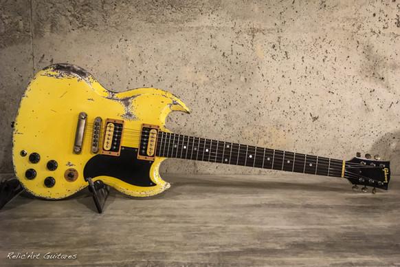 Gibson SG tv yellow relic