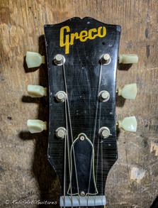 Greco Honey burst relic