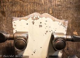 Gibson ES137 polaris white relic