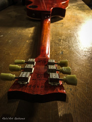 Gibson Les Paul lemon burst relic
