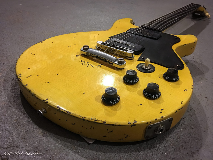 Gibson Les Paul tv yellow relic