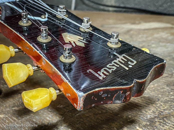 Gibson 335 refin faded cherry relic-30.j