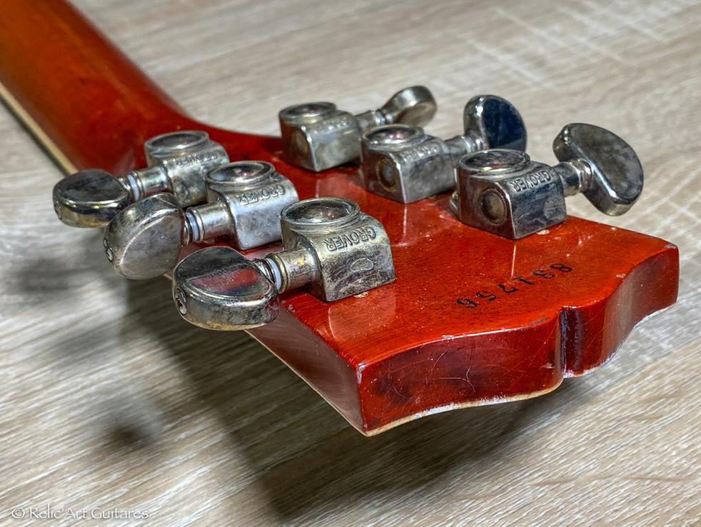 Gibson Les Paul RI 58 refin aged burst