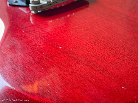 Gibson SG Junior refin cherry relic