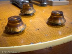 Orville Les Paul refin Honey Burst aged relic