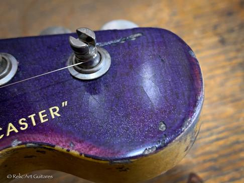 Fender telecaster custom shop refin Purp