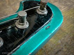 Gibson firebird 1963 refin inverness green relic
