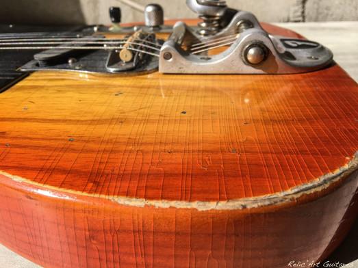 fender telecaster honey burst relic