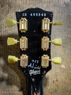 Gibson Custom Shop Les paul refin Deep Black relic