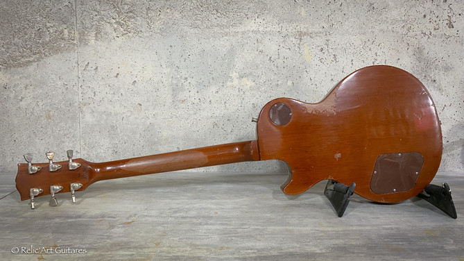 Gibson Les Paul refin Tobacco Burst relic