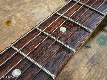 Gibson Les Paul Junior Billie Joe Armstrong signature refin Sunburst relic