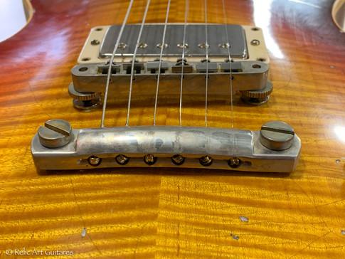 Gibson Les Paul refin bourbon burst relic