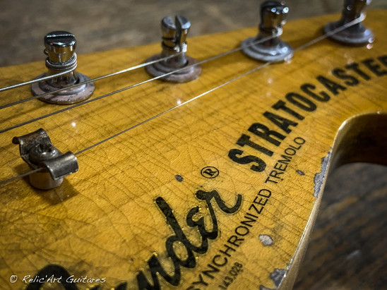 Fender Stratocaster Yngwie Malmsteen relic style