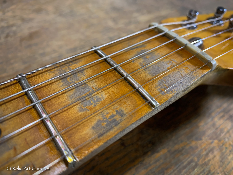 Fender classic 72 deluxe refin Champagne Sparkle deluxe