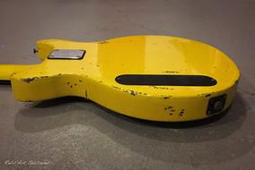 Greco bass tv yellow