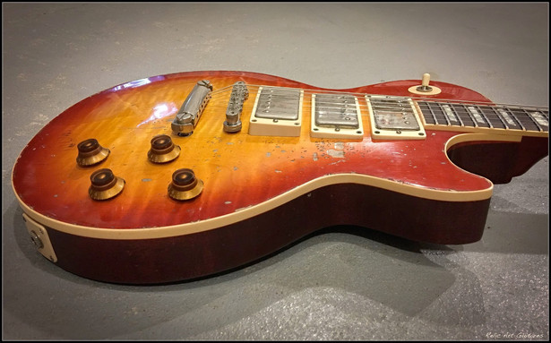 Gibson Les Paul cherry burst relic