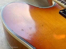 Epiphone Sheraton refin honey burst relic