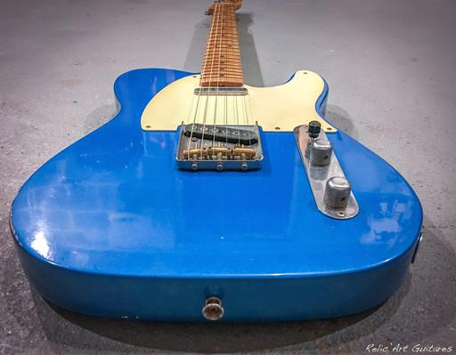 fender lake placid blue relic
