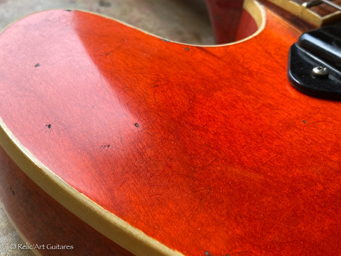 Gibson 335 refin faded cherry relic-19.j