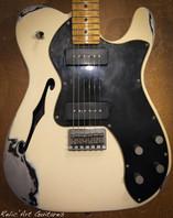 fender telecaster vintage white relic