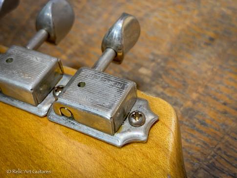 Stratocaster refin sunburst relic