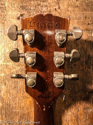 Gibson les paul goldtop relic