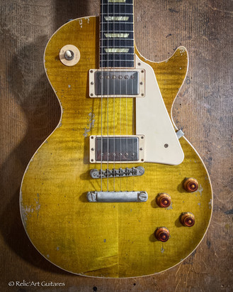 370 faded lemon burst