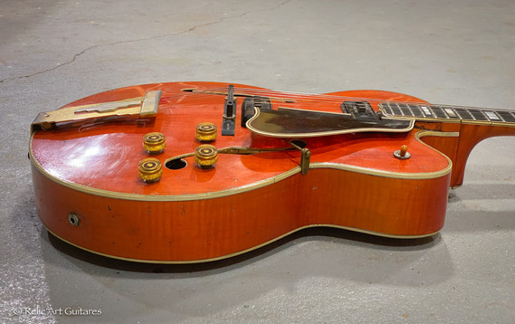 Gibson L5 CES 1953 refin faded cherry relic