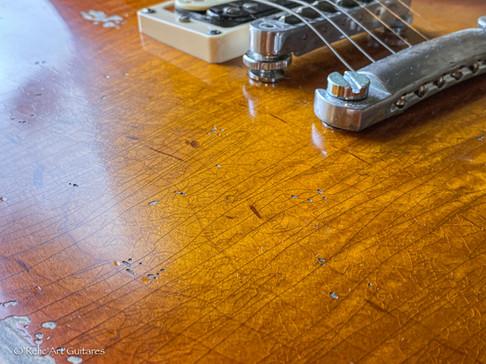 Gibson Les Paul Standard refin Burst Rel