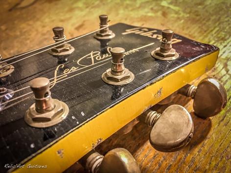 Gibson Les Paul Junior tv yellow relic