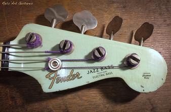 Fender Jazz bass sonic blue relic