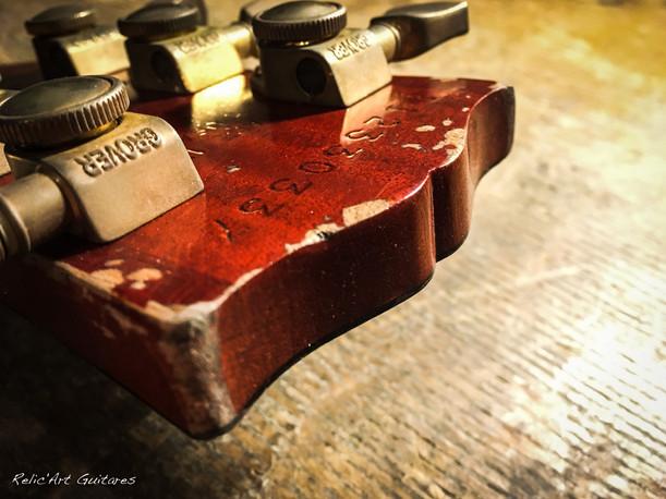 Gibson Les Paul iced tea burst relic