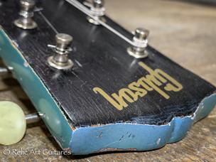 Gibson SG 1965 refin pelham blue relic-2