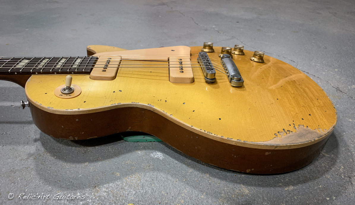 Gibson Les paul Gold Top relic-7.jpg