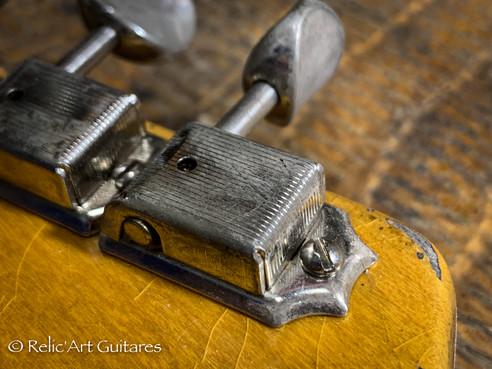 Fender Telecaster refin Sunburst relic